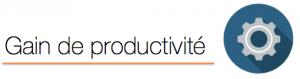 Apport productivité